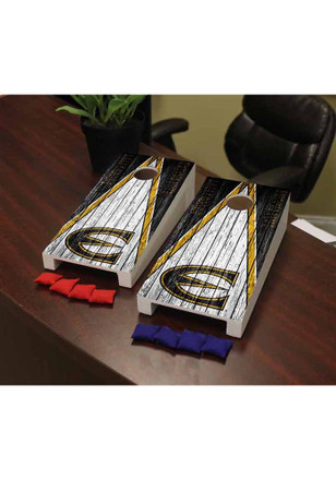 Emporia State Hornets Weathered Version Cornhole Game Desk Accessory