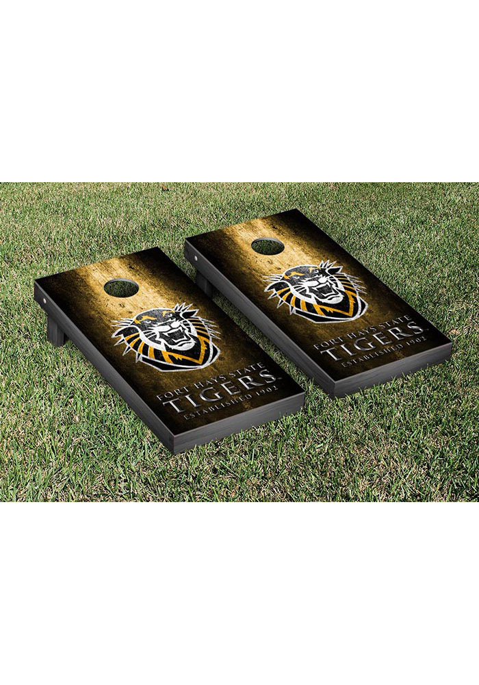 Fort Hays State Tigers Museum Version Cornhole Tailgate Game - Image 1