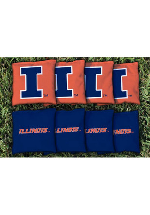 Illinois Fighting Illini All Weather Cornhole Bags Tailgate Game