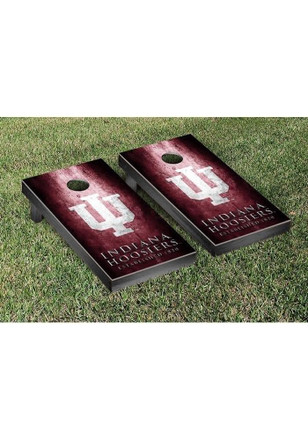 Indiana Hoosiers Museum Version Cornhole Tailgate Game