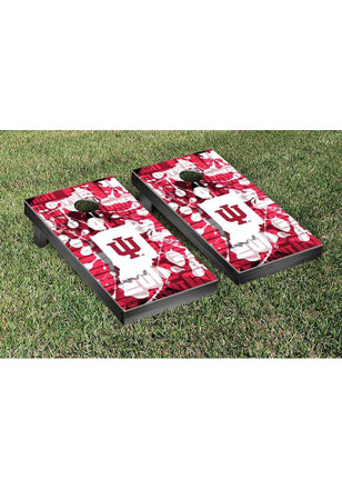 Indiana Hoosiers Fight Song Version Cornhole Tailgate Game