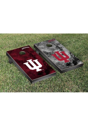 Indiana Hoosiers Galaxy Version Cornhole Tailgate Game