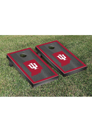 Indiana Hoosiers Onyx Border Version Cornhole Tailgate Game