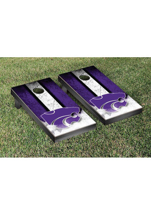 K-State Wildcats Vintage Version Cornhole Tailgate Game