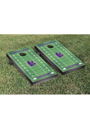 K-State Wildcats Football Field Version Cornhole Tailgate Game