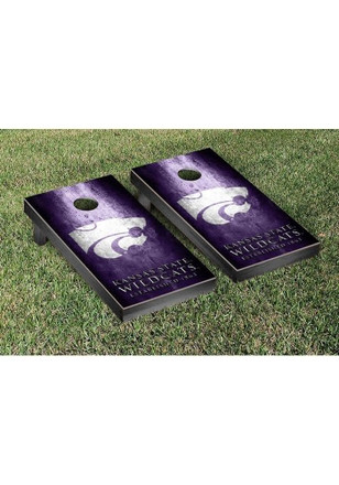 K-State Wildcats Museum Version Cornhole Tailgate Game
