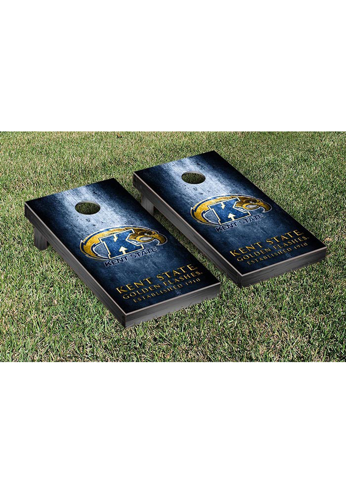 Kent State Golden Flashes Museum Version Cornhole Tailgate Game - Image 1