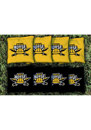 Northern Kentucky Norse Corn Filled Cornhole Bags Tailgate Game