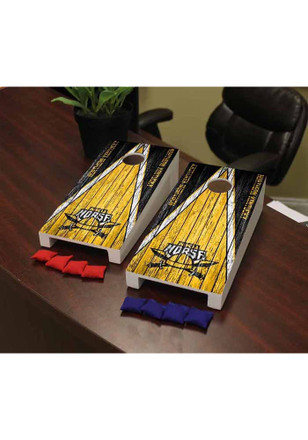 Northern Kentucky Norse Weathered Version Cornhole Game Desk Accessory