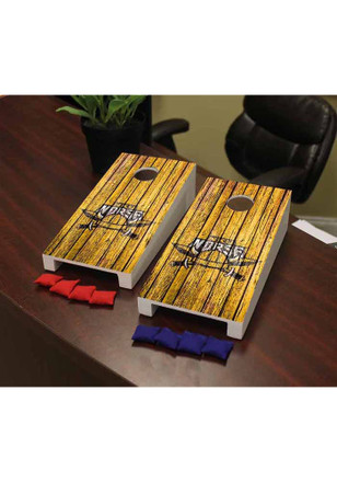 Northern Kentucky Norse Weathered Triangle Version Cornhole Game Desk Accessory