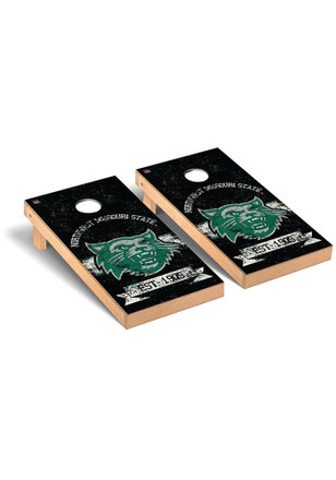 Northwest Missouri State Bearcats Banner Vintage Version Cornhole Tailgate Game