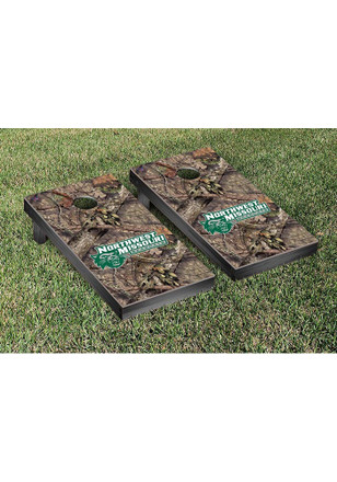 Northwest Missouri State Bearcats Mossy Oak Version Cornhole Tailgate Game