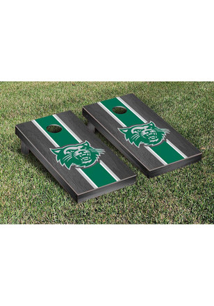 Northwest Missouri State Bearcats Onyx Stained Stripe Version Cornhole Tailgate Game