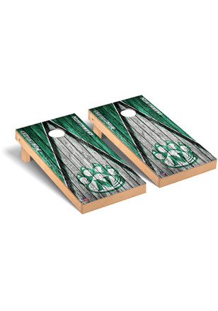 Northwest Missouri State Bearcats Triangle Weathered Version Cornhole Tailgate Game