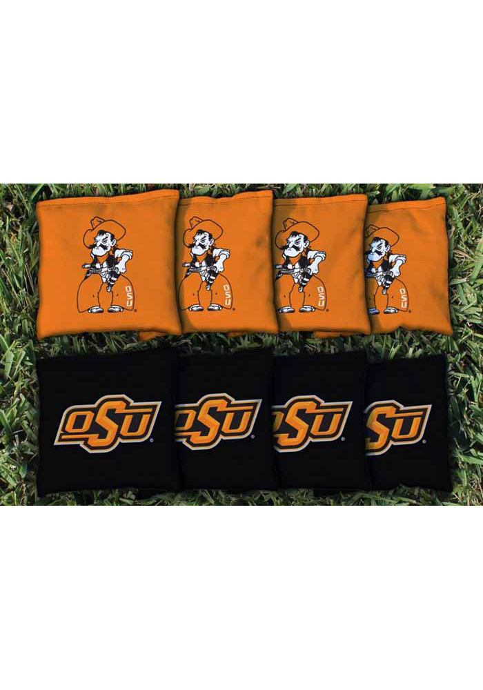 Oklahoma State Cowboys All Weather Cornhole Bags Tailgate Game - Image 1