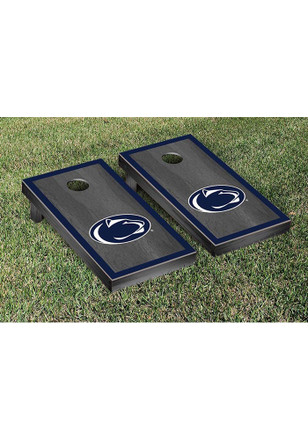 Penn State Nittany Lions Onyx Stained Border Version Cornhole Tailgate Game