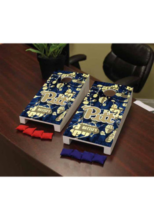 Pitt Panthers Fight Song Version Cornhole Game Desk Accessory