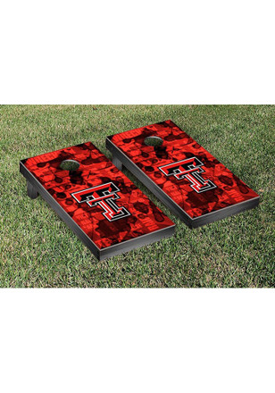 Texas Tech Red Raiders Fight Song Version Cornhole Tailgate Game