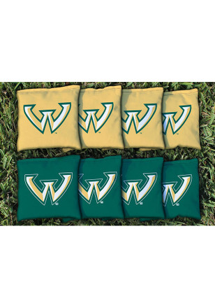 Wayne State Warriors All Weather Cornhole Bags Tailgate Game