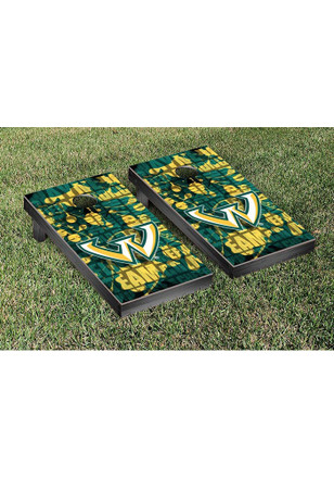 Wayne State Warriors Fight Song Version Cornhole Tailgate Game