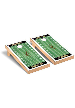 Western Michigan Broncos Football Field Version Cornhole Tailgate Game