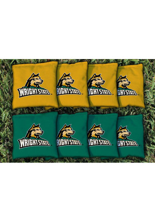 Wright State Raiders Corn Filled Cornhole Bags Tailgate Game