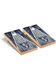 Xavier Musketeers Triangle Weathered Version Cornhole Tailgate Game
