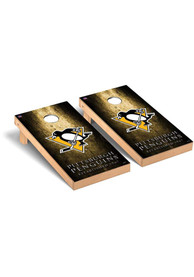 Pittsburgh Penguins Museum Version Cornhole Tailgate Game