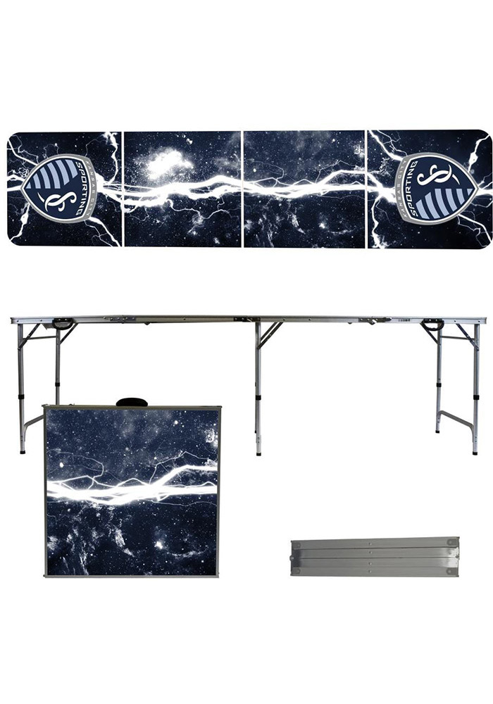 Sporting KC 8 Foot Portable Folding Tailgate Table - Image 1
