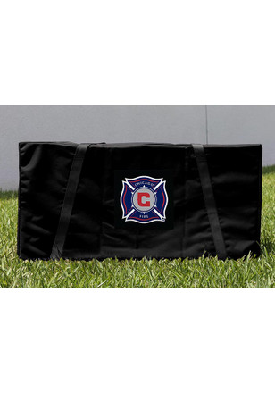 Chicago Fire Cornhole Carrying Case
