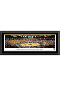 Wake Forest Demon Deacons Basketball Panorama Deluxe Framed Posters