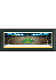 Green Bay Packers End Zone Panorama Deluxe Framed Posters