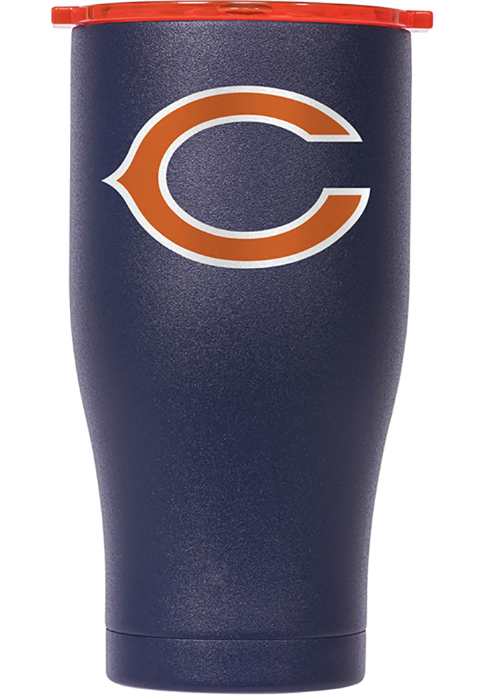 Chicago Bears ORCA Chaser 27oz Color Logo Stainless Steel Tumbler - Navy Blue - Image 1