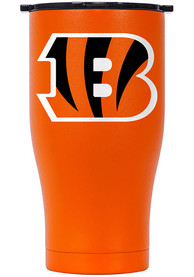 Cincinnati Bengals ORCA Chaser 27oz Color Logo Stainless Steel Tumbler - Orange