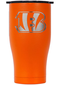 Cincinnati Bengals ORCA Chaser 27oz Laser Etched Logo Stainless Steel Tumbler - Orange