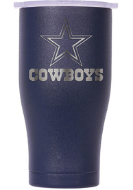 Dallas Cowboys ORCA Chaser 27oz Laser Etched Logo Stainless Steel Tumbler - Navy Blue