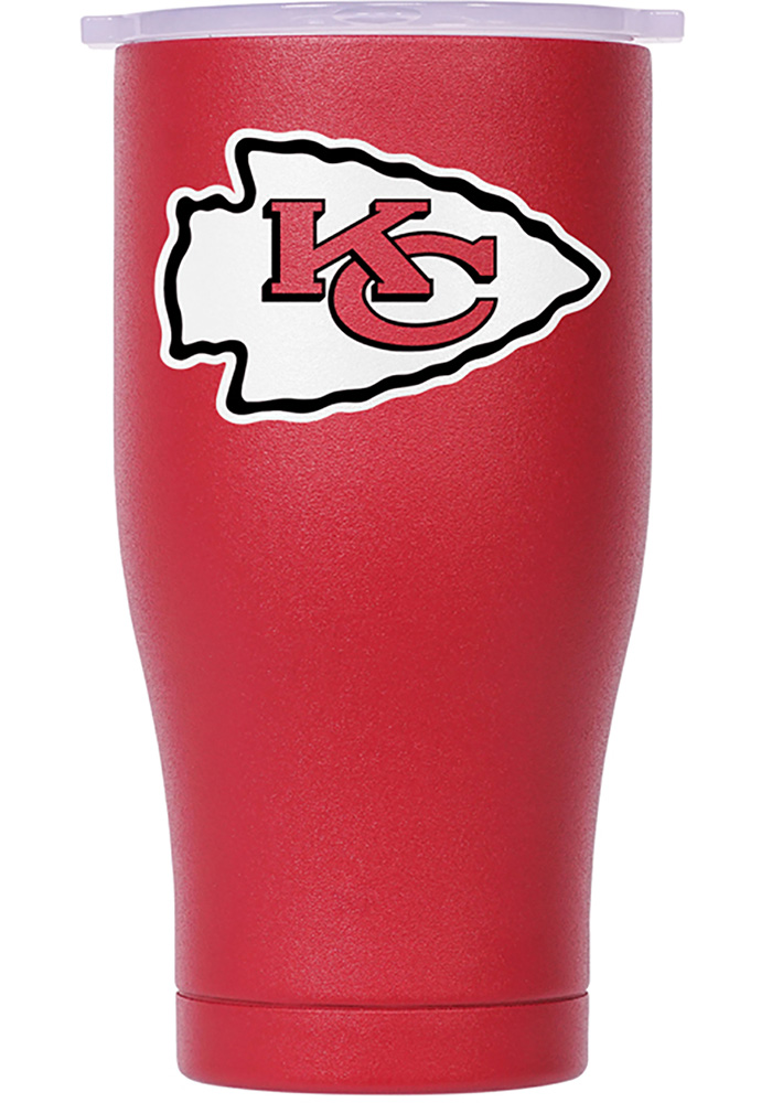 Kansas City Chiefs ORCA Chaser 27oz Color Logo Stainless Steel Tumbler - Red - Image 1