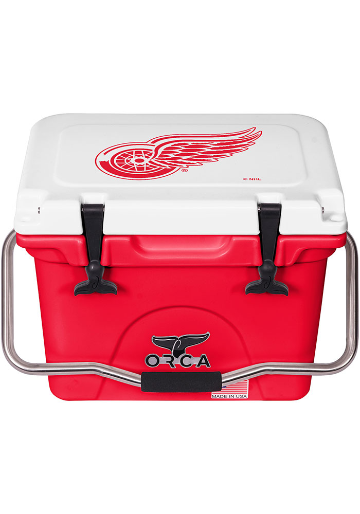 Detroit Red Wings ORCA 20 Quart Cooler - Image 1