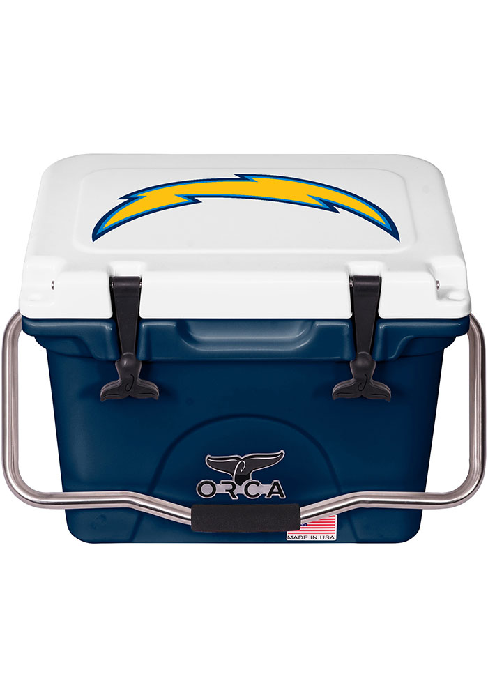 Los Angeles Chargers ORCA 20 Quart Cooler - Image 1