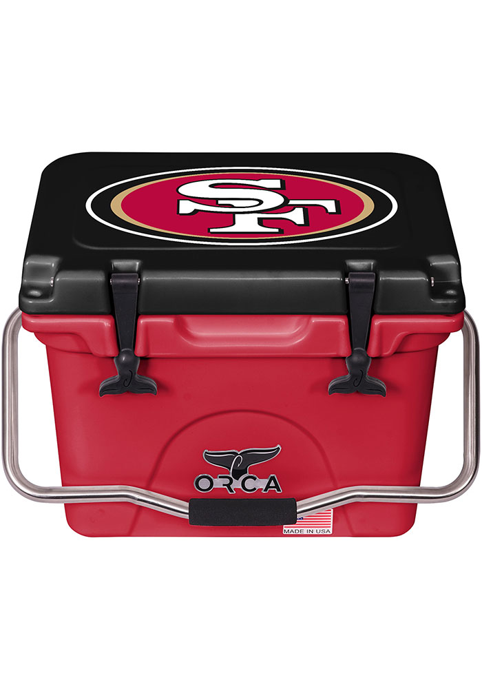 San Francisco 49ers ORCA 20 Quart Cooler - Image 1