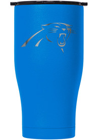 Carolina Panthers ORCA Chaser 27oz Etch Stainless Steel Tumbler - Blue
