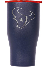 Houston Texans ORCA Chaser 27oz Etch Stainless Steel Tumbler - Navy Blue