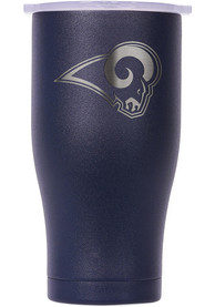 Los Angeles Rams ORCA Chaser 27oz Etch Stainless Steel Tumbler - Navy Blue