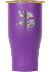 Minnesota Vikings ORCA Chaser 27oz Etch Stainless Steel Tumbler - Purple