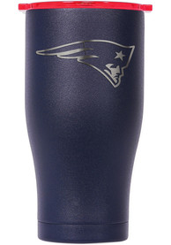New England Patriots ORCA Chaser 27oz Etch Stainless Steel Tumbler - Navy Blue