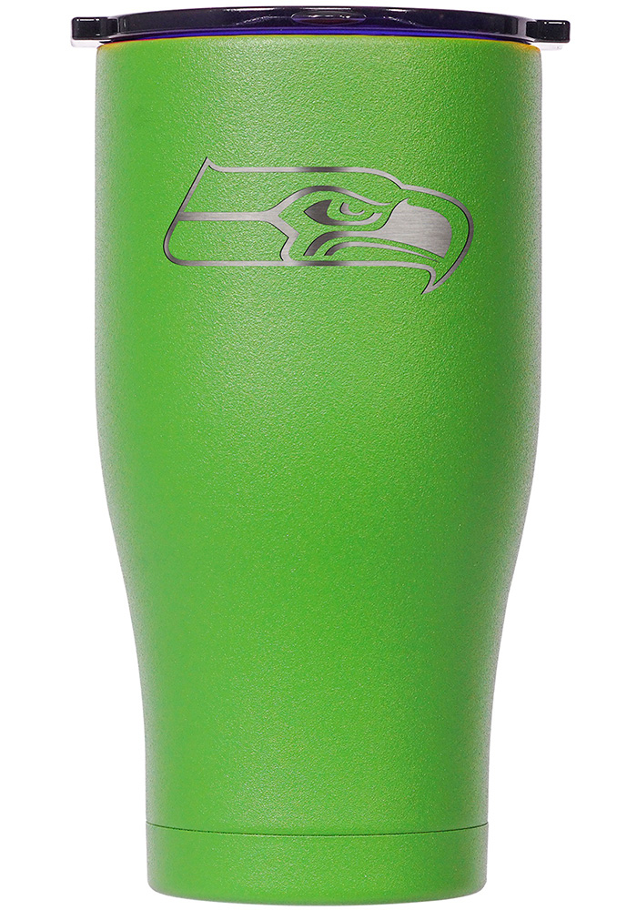 Seattle Seahawks ORCA Chaser 27oz Etch Stainless Steel Tumbler - Green - Image 1