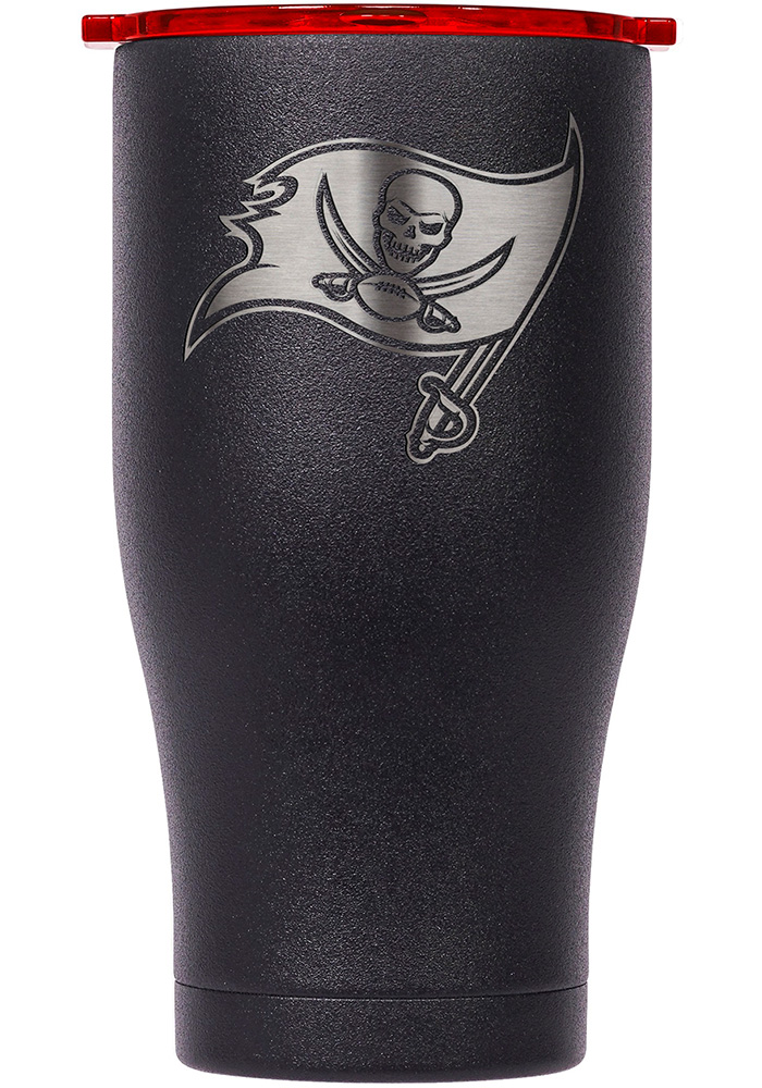 Tampa Bay Buccaneers ORCA Chaser 27oz Etch Stainless Steel Tumbler - Black - Image 1