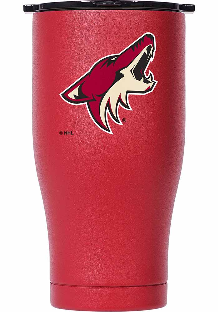 Arizona Coyotes ORCA Chaser 27oz Full Color Stainless Steel Tumbler - Crimson - Image 1