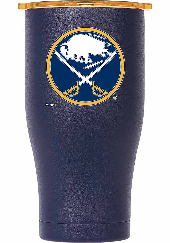 Buffalo Sabres ORCA Chaser 27oz Full Color Stainless Steel Tumbler - Navy Blue - Image 1