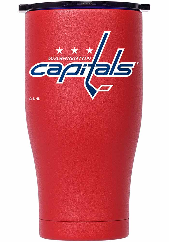 Washington Capitals ORCA Chaser 27oz Full Color Stainless Steel Tumbler - Red - Image 1